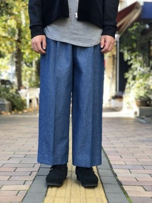【banal chic bizarre】 3TAC Wide denim pants