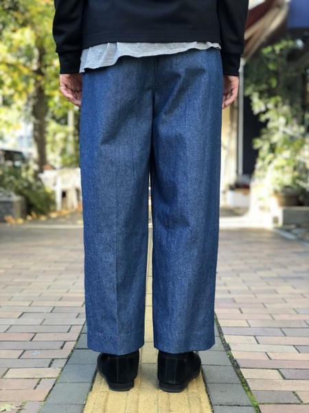 【banal chic bizarre】 3TAC Wide denim pants