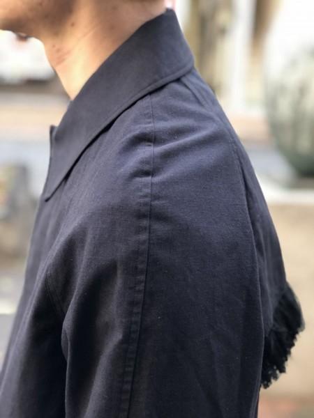 【banal chic bizarre】 Fringe coat