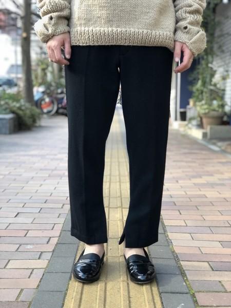 【KONYA】Letter pants