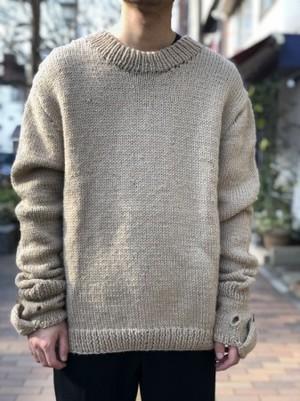 【banal chic bizarre DeLIATe】 Handmade knit
