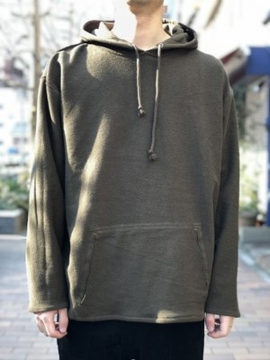 【banal chic bizarre】SWEAT PARKA