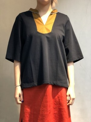 【NON TOKYO】MAO COLLAR T-SHIRT