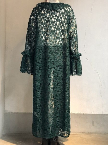 【NON TOKYO】LACE FRILL GOWN