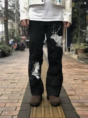 【AIC ISLAND】CRUST PANTS