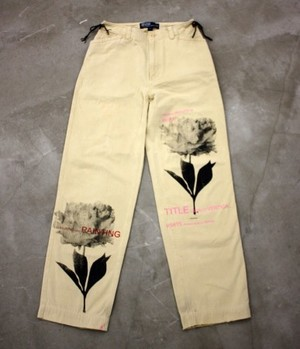 【AIC ISLAND】STRIGHT PANTS