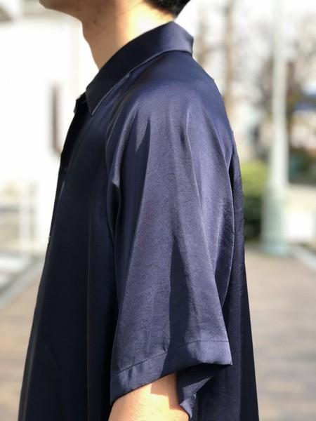 【UMBER】 Short-sleeved shirt
