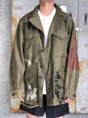 【AIC ISLAND】Military jacket