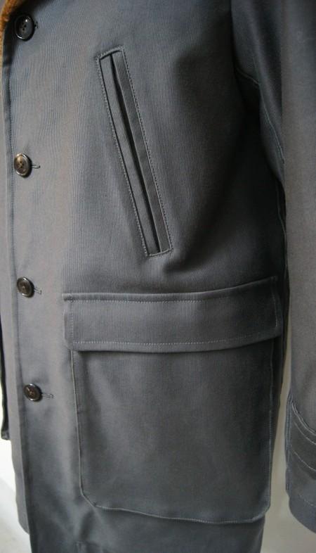 German code cross boa car coat