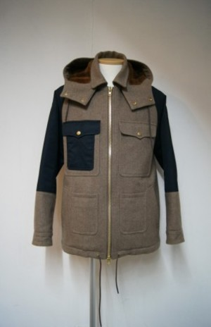 Top melton boa Cruiser jacket
