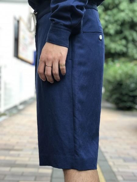 【Décor du tissu】LINEN/RAYON SHORT PANTS