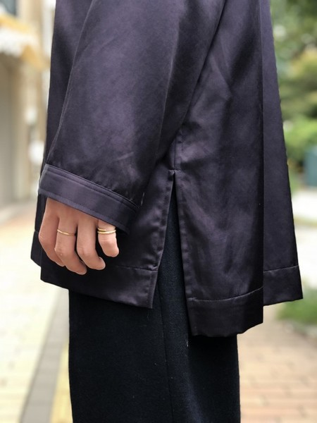 【Décor du tissu】Rayon Open collar Shirts