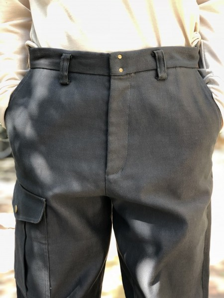 【Décor du tissu】German code cross army pant