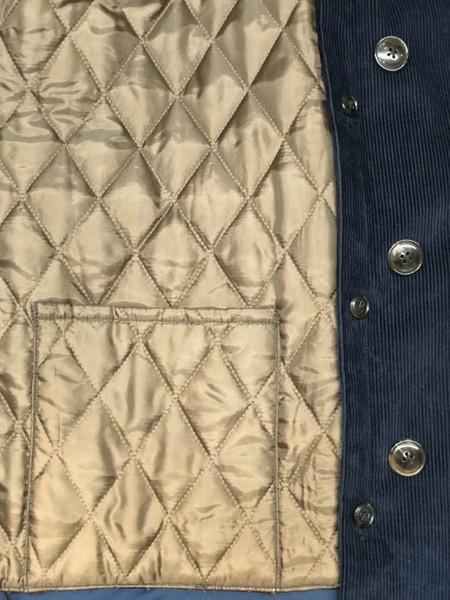 【Décor du tissu】Wide-wale corduroy Trench coat