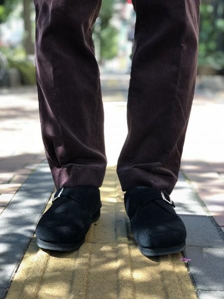 【Décor du tissu】Utility wide-wale corduroy pant