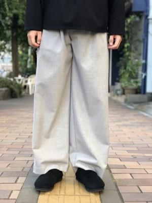 【KONYA】For tuck pants