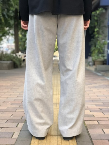 【KONYA】For tuck pants