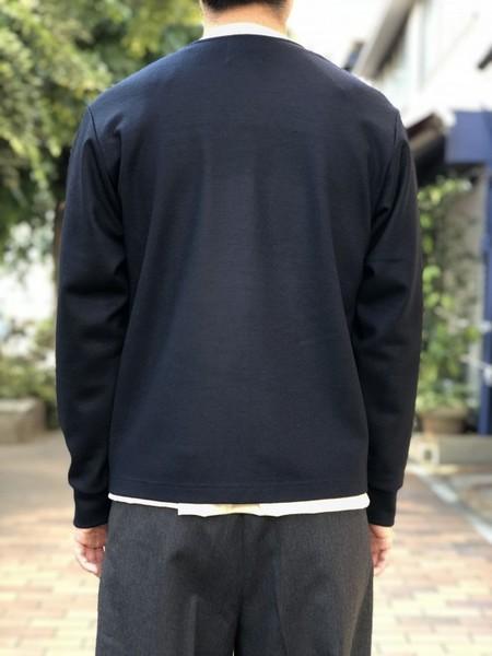 【UMBER】Wool zip cardigan