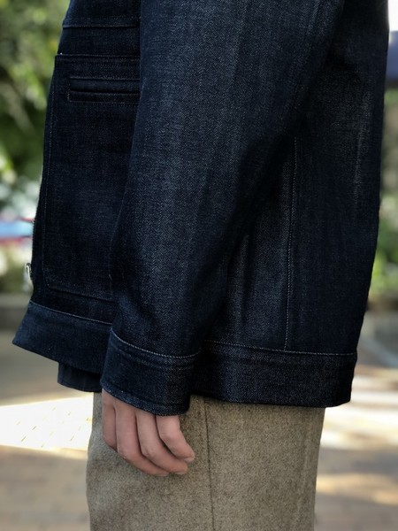 【UMBER】Denim coveralls