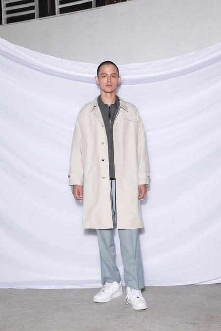 【UMBER】Nylon pullover shirt