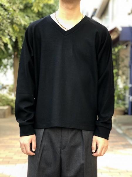 【UMBER】Raglan sleeves knit
