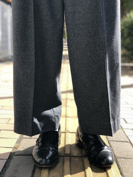 【banal chic bizarre】3TAC Wide pants