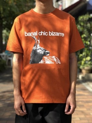【banal chic bizarre】PRINT T-SHIRT